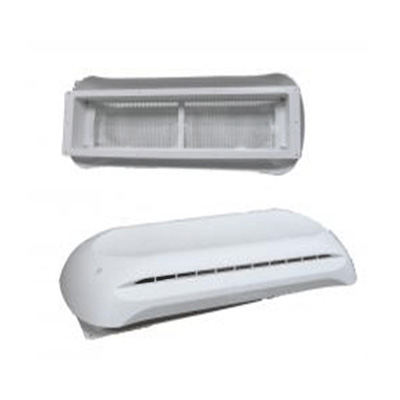 RV Refrigerator Roof Vent - Dometic - Base & Cover -  White
