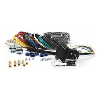 Trailer Lights Wiring Harness - Eaz-Lift 7-Way Wire Harness With Bracket, Connectors & Wires