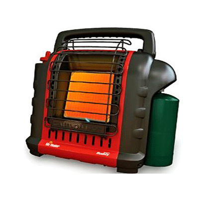 Space Heaters - Enerco Tech Propane Indoor/Outdoor 9000 Btu Portable Heater