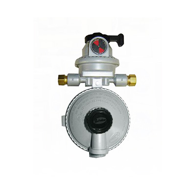 Propane Regulator - Fairview Fittings 2-Stage Automatic Changeover Regulator With End Vent