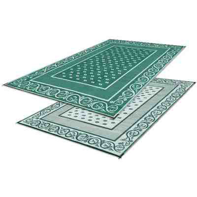 Camping Mats - Faulkner Vineyard Patio Mat 9' x 12' Green