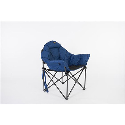 Camping Chairs - Faulkner Big Dog Bucket Chair With Carry Bag - Blue