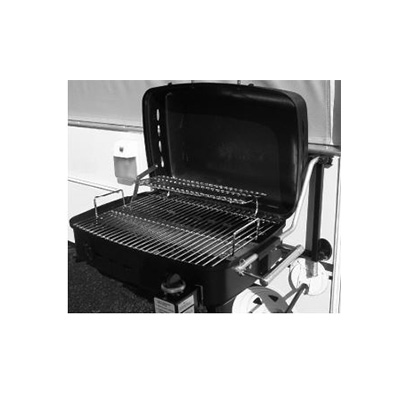 Barbecue Grill - Sidekick - Propane - RV Mount Or Stand Alone - Black