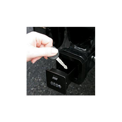 Hitch Receiver Cover - Frank Martin Locking Hitch Receiver Compartment