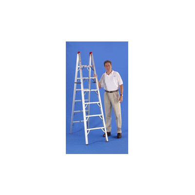 RV Ladder - Global Product Logistics - Folding - 6'L - Double Sided