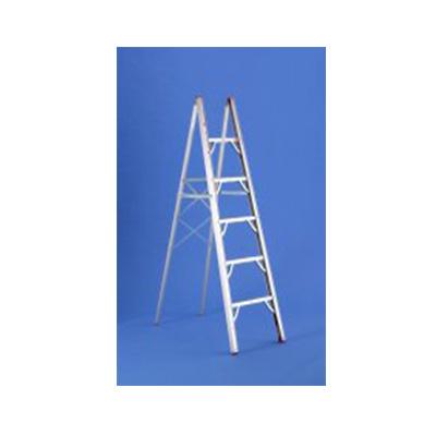 Step Ladder - GP Logistics Folding Single-Sided Aluminum Step Ladder - 6'L