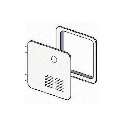 Tankless Water Heater Door - Girard GSWH-2 Access Door Replaces Suburban 6G Doors - White