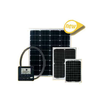 Solar Panel - Go Power GP-ECO-80 80W Solar Kit With Controller, Cable And Hardware