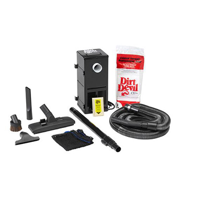 RV Vacuum - Dirt Devil CV1500 Central Vac System With HEPA Bag Filtration