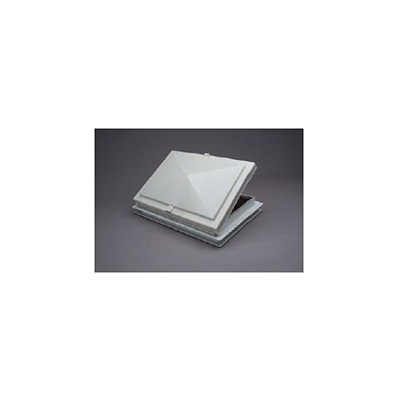 "Escape Vent - Heng's Industries Exit Vent With White Lid 22"" x 22"""