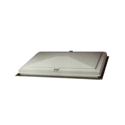 "Escape Vent Cover - Heng's Industries Exit Vent Cover With Cross Bar 26"" x 26"" White"