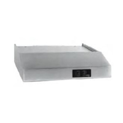 RV Range Hood - Hengs Industries - Ductless - 12V - Light - Stainless Steel