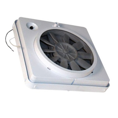Roof Vent - Heng's Industries Vortex I Roof Vent Upgrade Kit - 12V - White