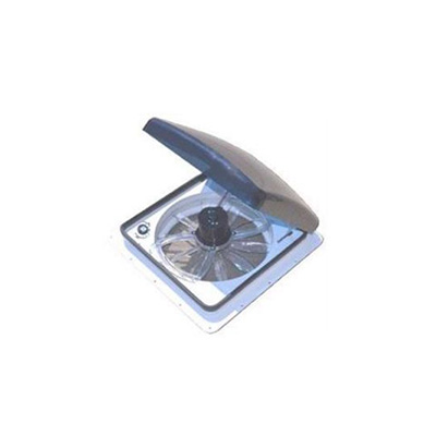 Roof Vent - Zephyr Electric Roof Vent With Exhaust And Reverse - 12V - Smoke Lid