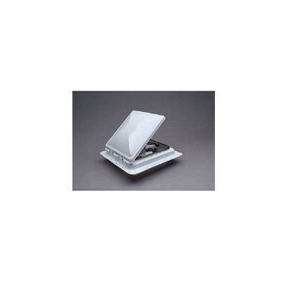 Roof Vent - Zephyr Electric Roof Vent With Exhaust And Reverse - 12V - White Lid