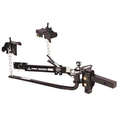 Trailer Hitch - Husky Towing Round Bar Weight Distribution Hitch 1200 Lbs With 2-5/16