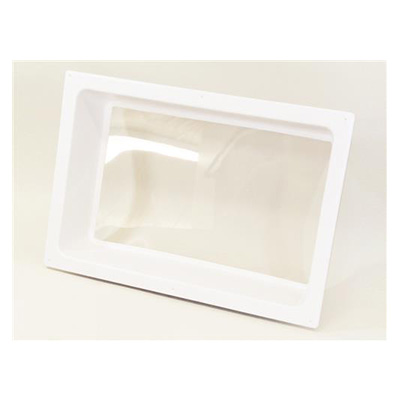 "RV Skylight - Icon Interior Skylight Lens With Frame 24"" x 16"" x 5"" - White"