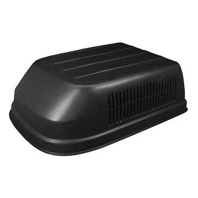 Air Conditioner Shroud - Icon A/C Shroud Fits Coleman-Mach - Black