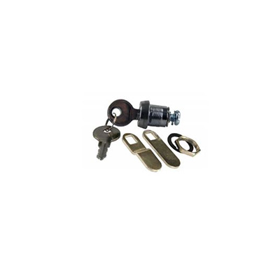 "Cam Locks - JR Products Deluxe J236 Key Baggage Door Lock Cylinder 7/8"" 1 Per Pack"