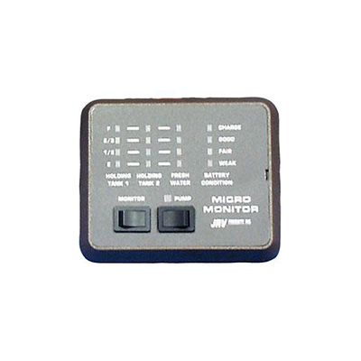 Holding Tank Monitor Panel - JRV Products LED Holding Tank Monitor Panel -  Black