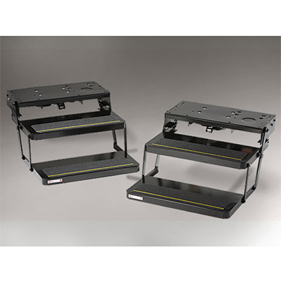 RV Steps - Kwikee 32 Series 12V Double Electric RV Steps - 24