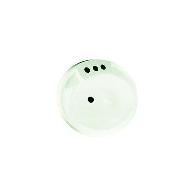 RV Bathroom Sink - Lasalle Bristol - Plastic - Oval - Faucet Holes - Ivory