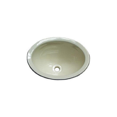 RV Bathroom Sink - Lasalle Bristol - Plastic - Oval - Polar White