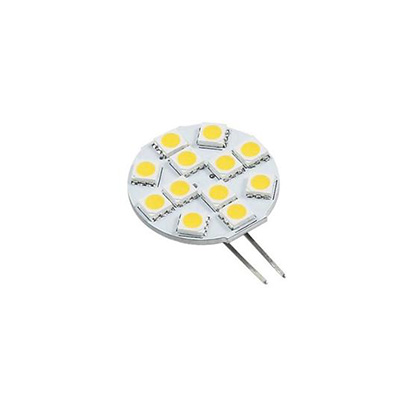 Light Bulbs - Green Value 12/24V LED Warm White G4 L Back Pins Light Bulb - 1 Per Pack