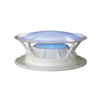 Sewer Vent Cap - 360 Siphon Sewer Vent Cover With Bug Screen - White