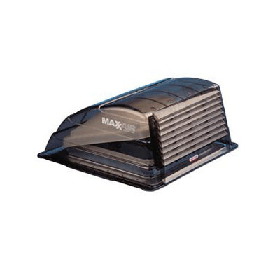 Roof Vent Cover - MaxxAir Standard-Size Exterior RV Roof Vent Cover - Smoke
