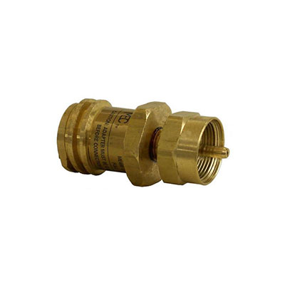 Propane Adapters - MEC Propane Adapter - Full Size Tank To Disposable Cylinder