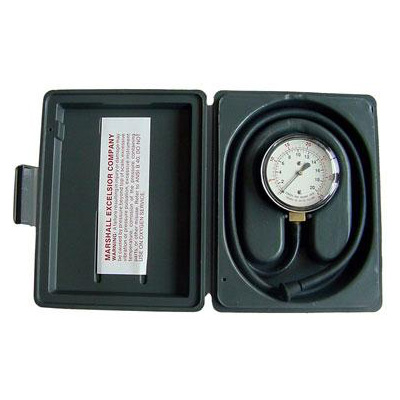Propane Pressure Tester - MEC Propane Gauge With 3' Hose And Carry Case