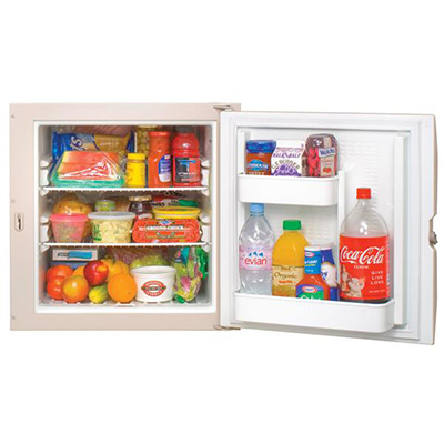 RV Refrigerator - Norcold - 3-Way AC/DC/LP - 2.4 Cubic Feet