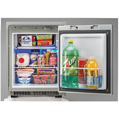 Refrigerator - Norcold 2-Way AC/DC 1.7 Cubic Foot Refrigerator - Black
