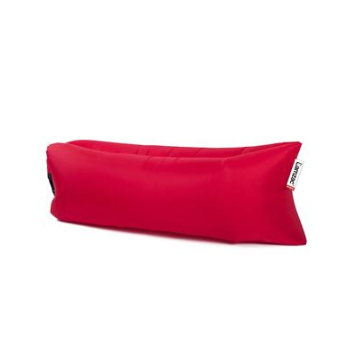 Chairs - Lamzac Inflatable Fatboy Lounge Chair With Carry Case - Red