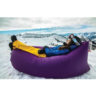 Chairs - Lamzac Inflatable Fatboy Lounge Chair With Carry Case - Purple