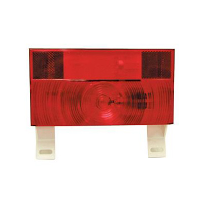 Tail Lights - Peterson Manufacturing Stop/Turn Tail Light With Plate Holder - Red