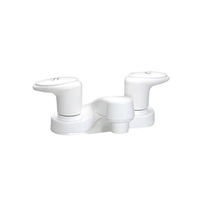 RV Bathroom Sink Faucet - Phoenix Faucets - Catalina - Dual Handles - White