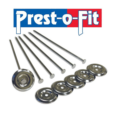 Camping Mat Anchors - Prest-O-Fit Steel Patio Rug Stakes 6 Per Pack