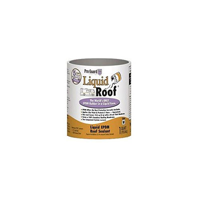 Roof Repair - Pro Guard Coatings Liquid Roof EPDM Rubber Roof Coating - 1 Quart - White