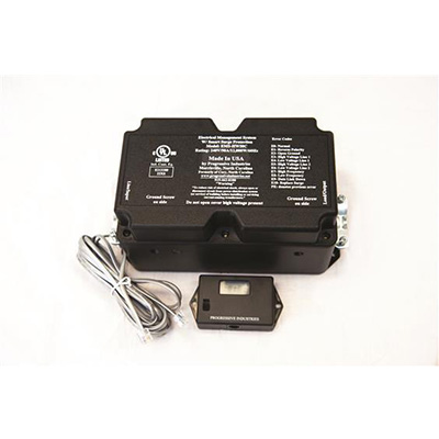Surge Protector - Progressive Industries EMS Series Surge Protector 50A - 3580 Joules