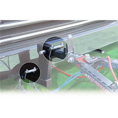 Hitch Clamp - Quiet Hitch Receiver Clamp 2-1/2