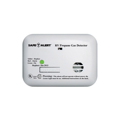 Propane Detector - Safe-T-Alert - 20 Series - 12V - Surface Mount - White