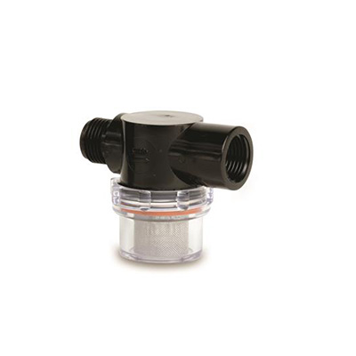 "Water Pump Strainer - SHURflo Strainer With 1/2"" NPSM Fittings And 50 Mesh SS Screen"