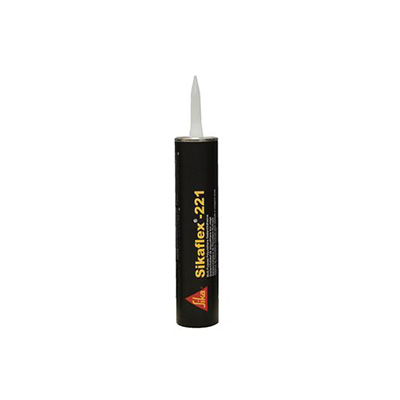 Caulking - SIKAFLEX-221 Polyurethane Sealant 10.4 Ounce Tube - Black