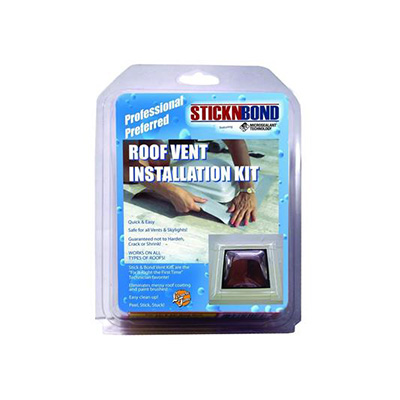 Roof Vent Installation Kit - STICKNBOND Peel And Stick All Roof Type Install Kit