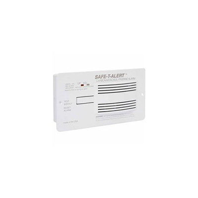 CO/LP Detector - Safe-T-Alert 70 Series 12V Flush Mount Carbon Monoxide/Propane - White