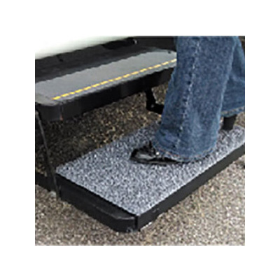 RV Step Rug - Safety Step - Charcoal - Heavy Duty
