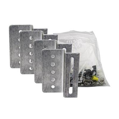 Solar Panel Mounts - Samlex Solar Aluminum Mounting Brackets 4 Per Pack With Screws