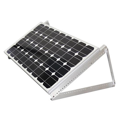 Solar Panel Tilt Mounts - Samlex Solar Adjustable Solar Panel Aluminum Brackets - 4 Pack